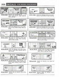 Herald King Decals – Model Railroad Decals Over 1,000 Modern
