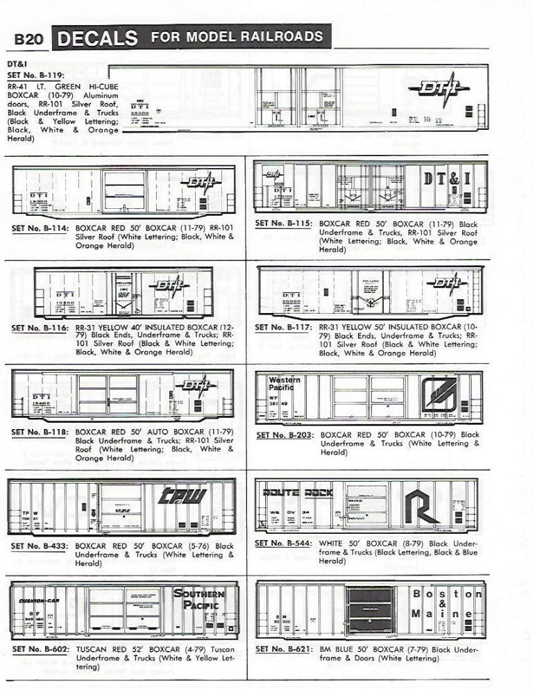 Herald King Decals - Model Railroad Decals Over 1,000 ...