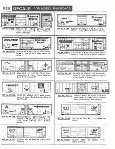 SEABOARD SYSTEM Van Decal Herald King Z-1940